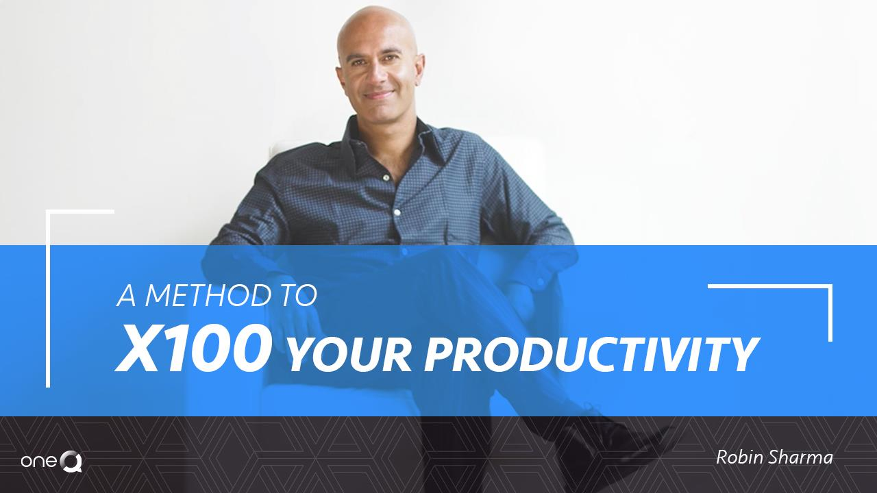 A Method To x100 Your Productivity - Simply One Question - One Q