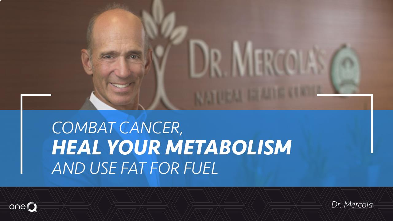 Combat Cancer, Heal Your Metabolism, And Use Fat For Fuel - Simply One Question - One Q