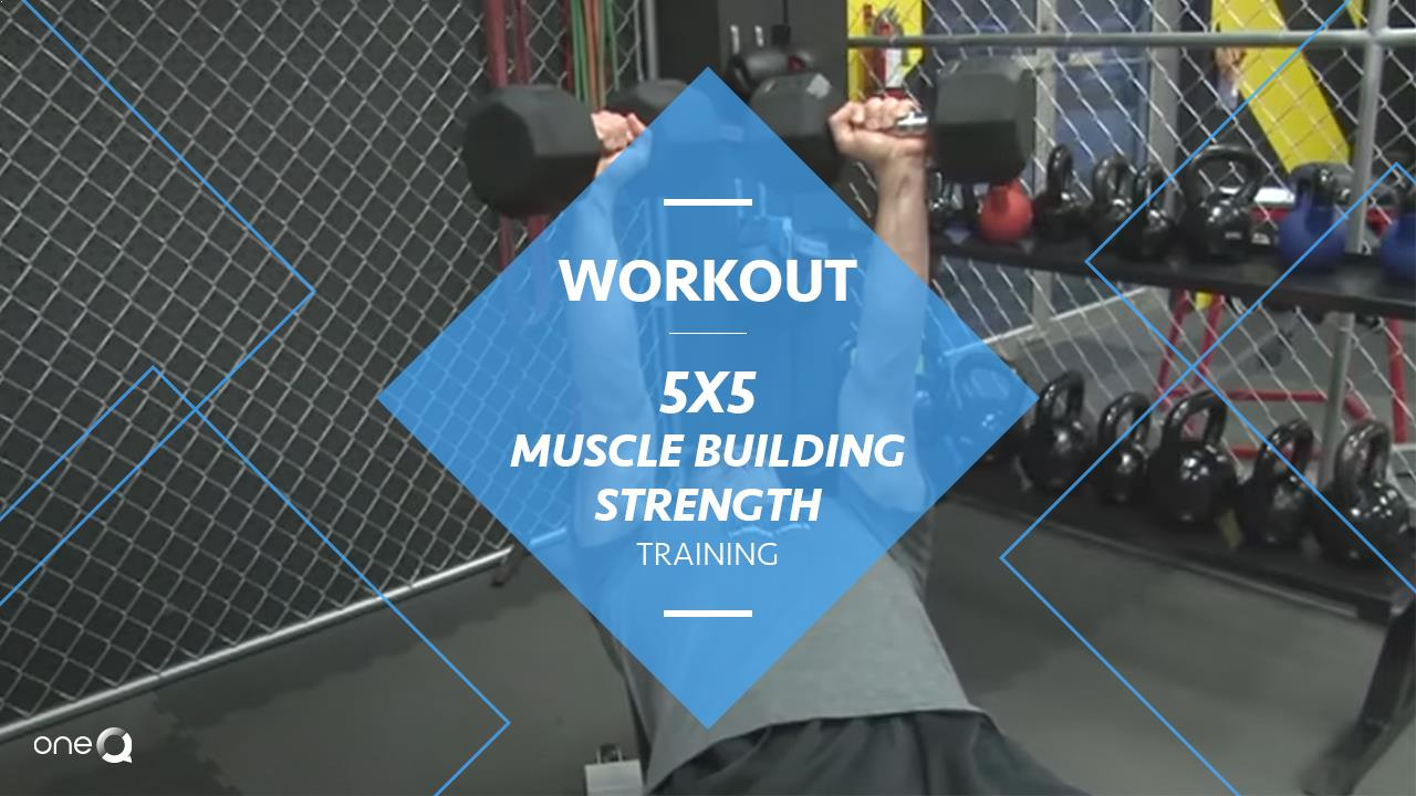 Workout | 5x5 Muscle Building Strength Training - Simply One