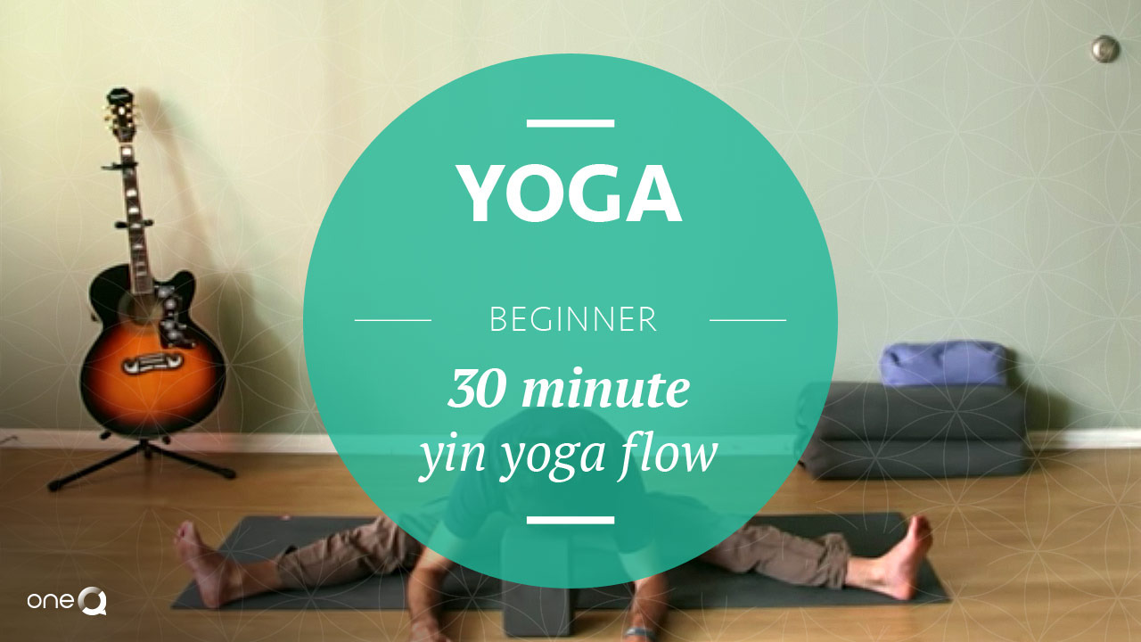 Yoga Beginner | 30 Minute Yin Yoga Flow - Simply One Question - One Q