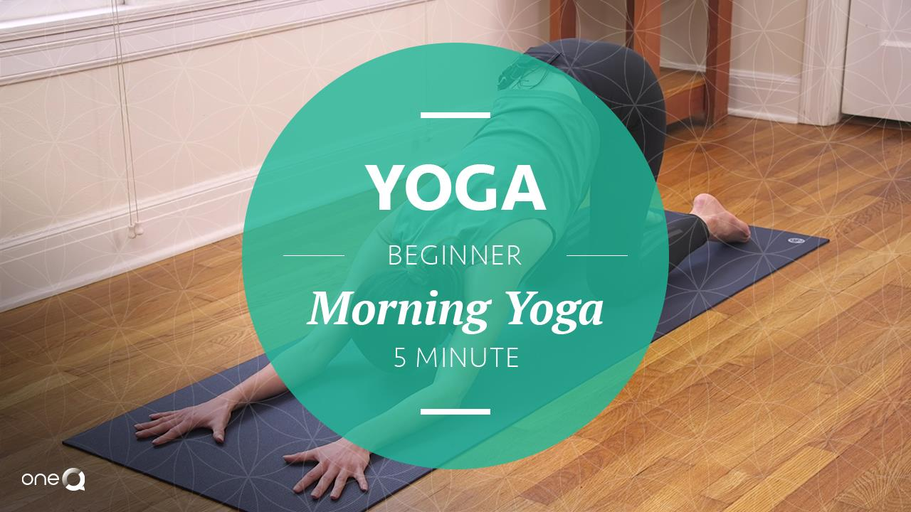 Yoga Beginner | 5-Minute Morning Yoga - Simply One Question