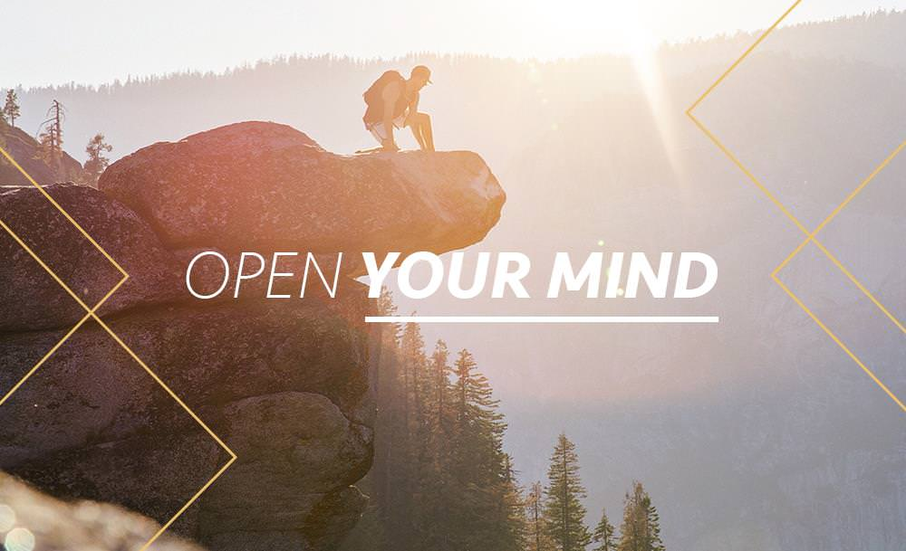 Open your mind - Simply One Question - One Q